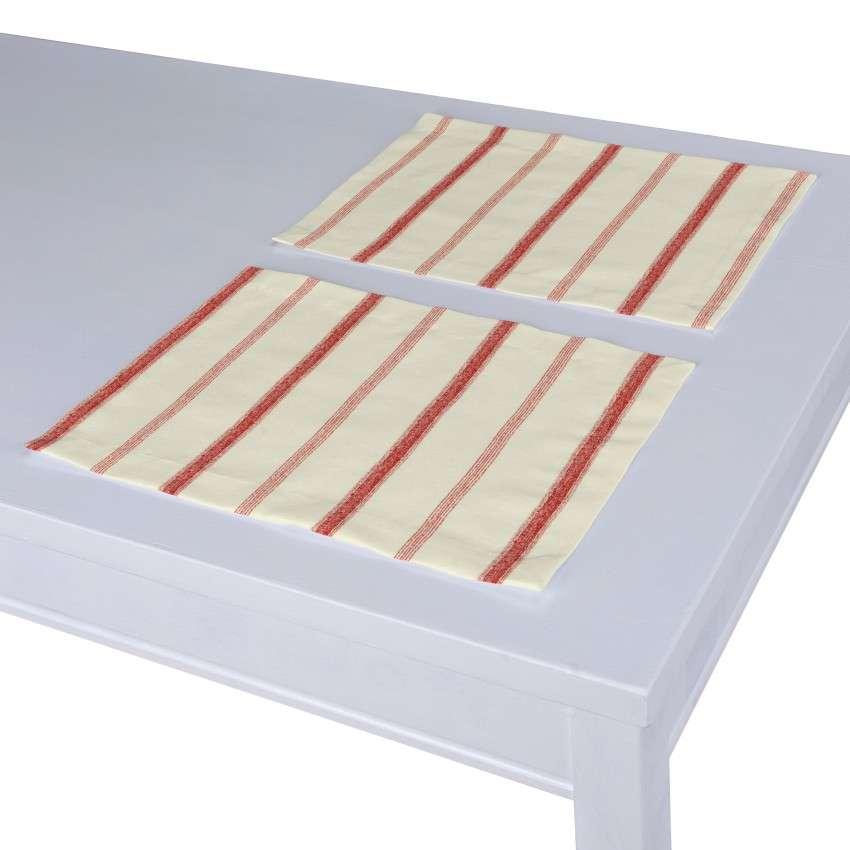 Stalo servetėlės/stalo padėkliukai – 2 vnt. 30 × 40 cm kolekcijoje Avinon, audinys: 129-15