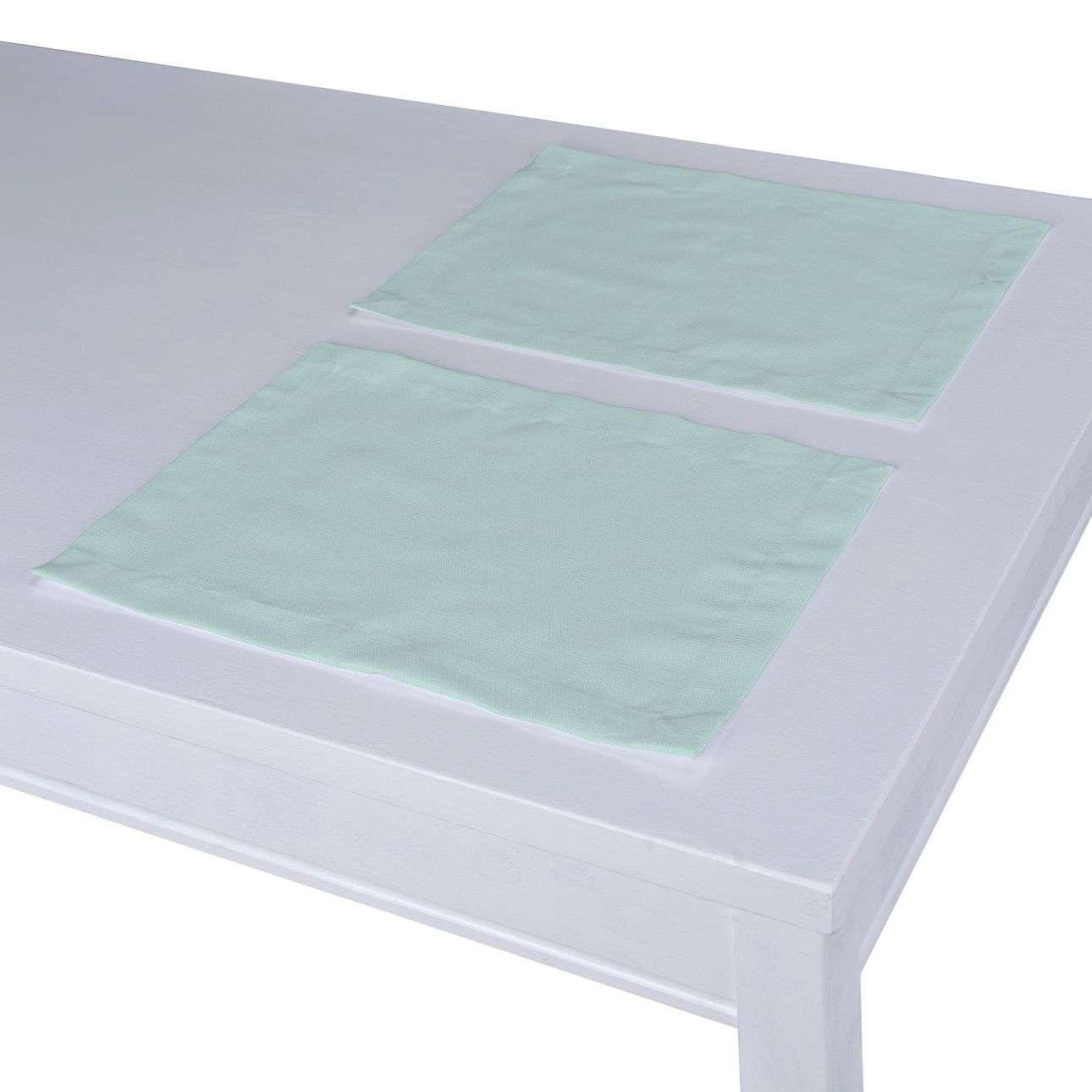 Podkładka 2 sztuki 30x40 cm w kolekcji Cotton Panama, tkanina: 702-10