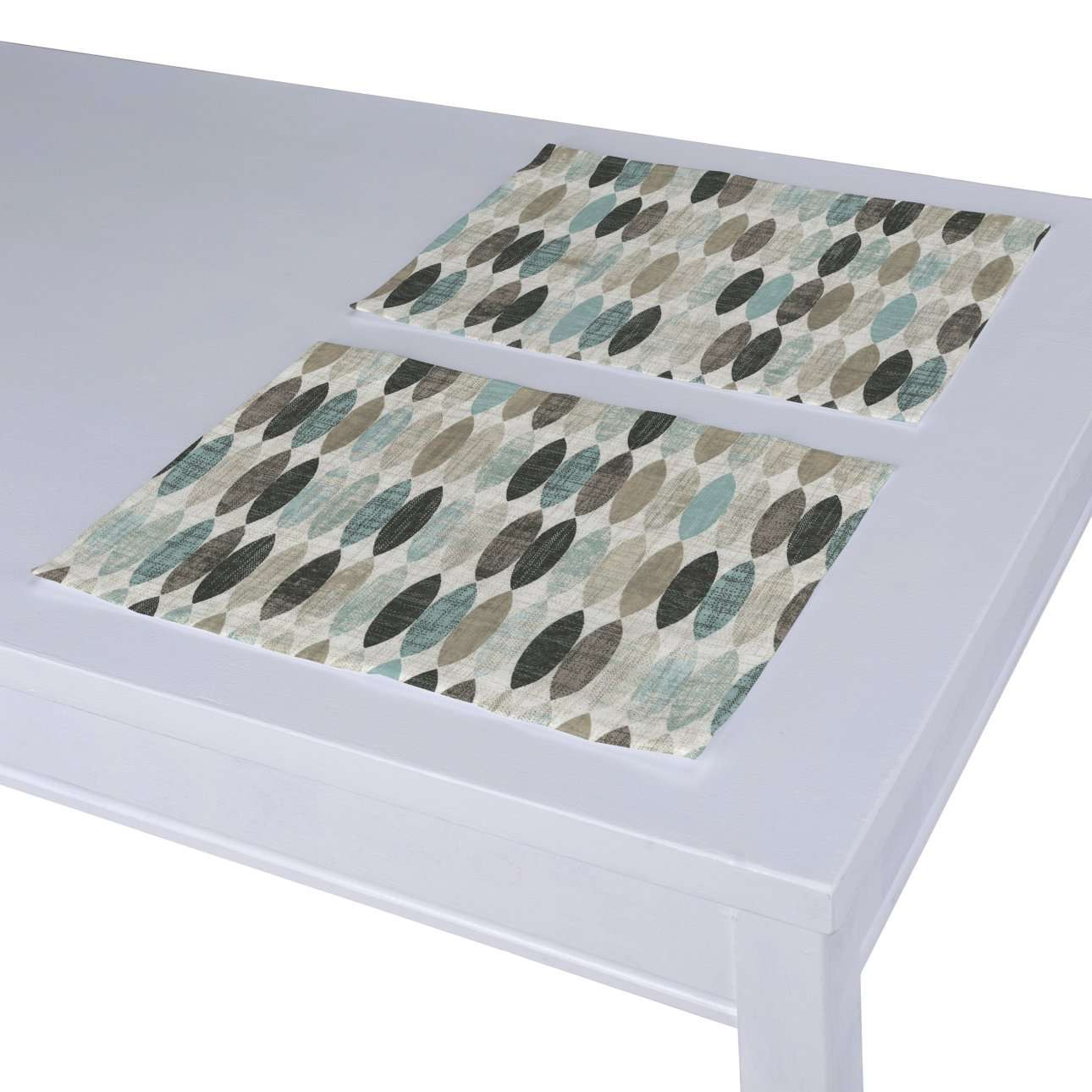 Stalo servetėlės/stalo padėkliukai – 2 vnt. kolekcijoje Modern, audinys: 141-91
