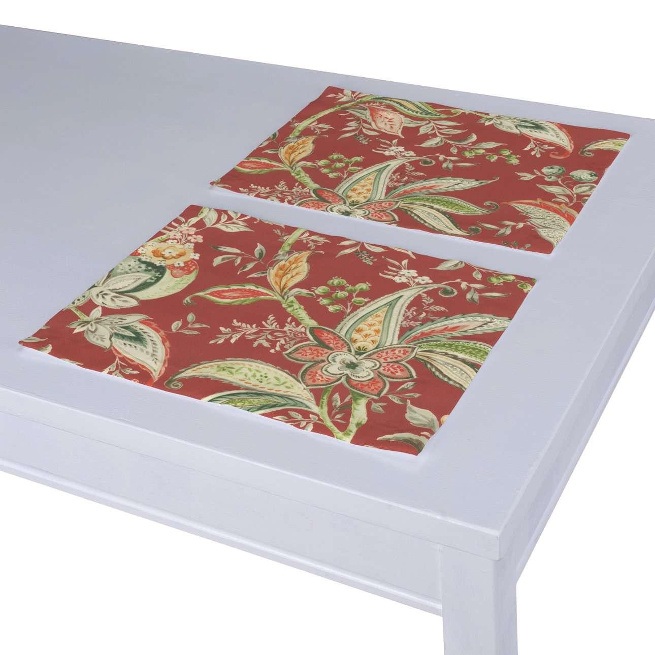 Podkładka 2 sztuki w kolekcji Gardenia, tkanina: 142-12