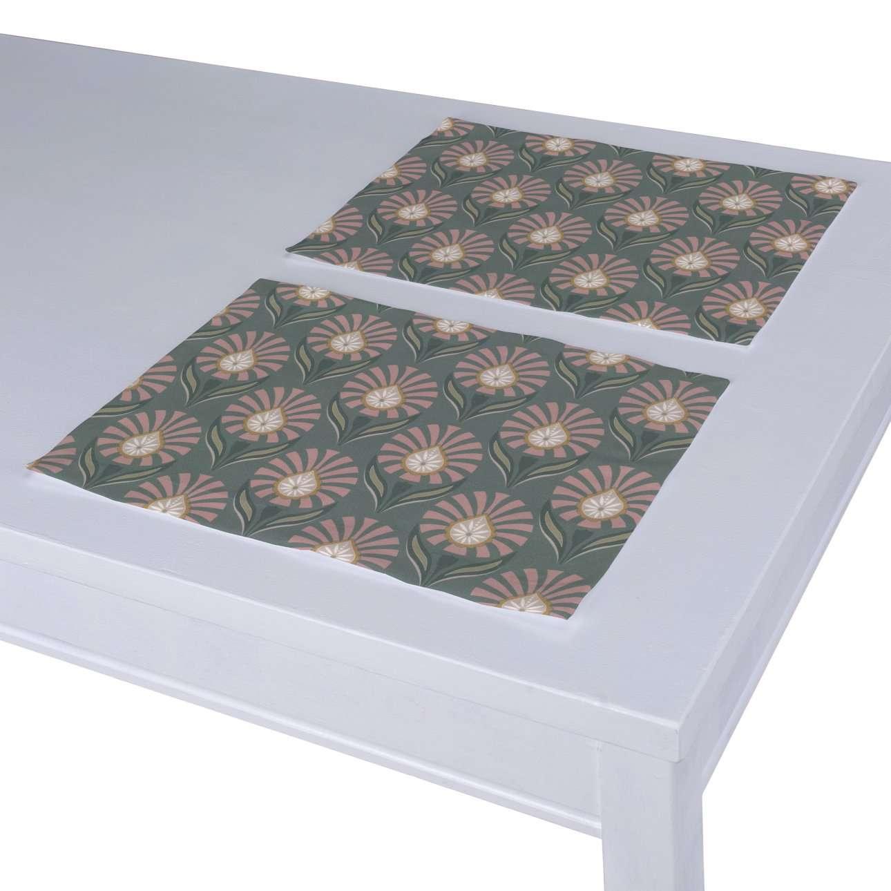 Dækkeservietter 2 stk. fra kollektionen Gardenia, Stof: 142-17