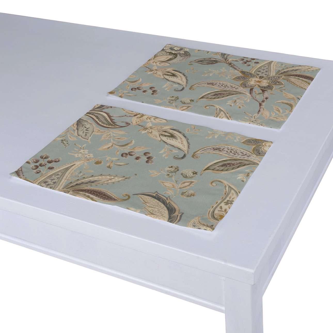 Stalo servetėlės/stalo padėkliukai – 2 vnt. kolekcijoje Gardenia, audinys: 142-18