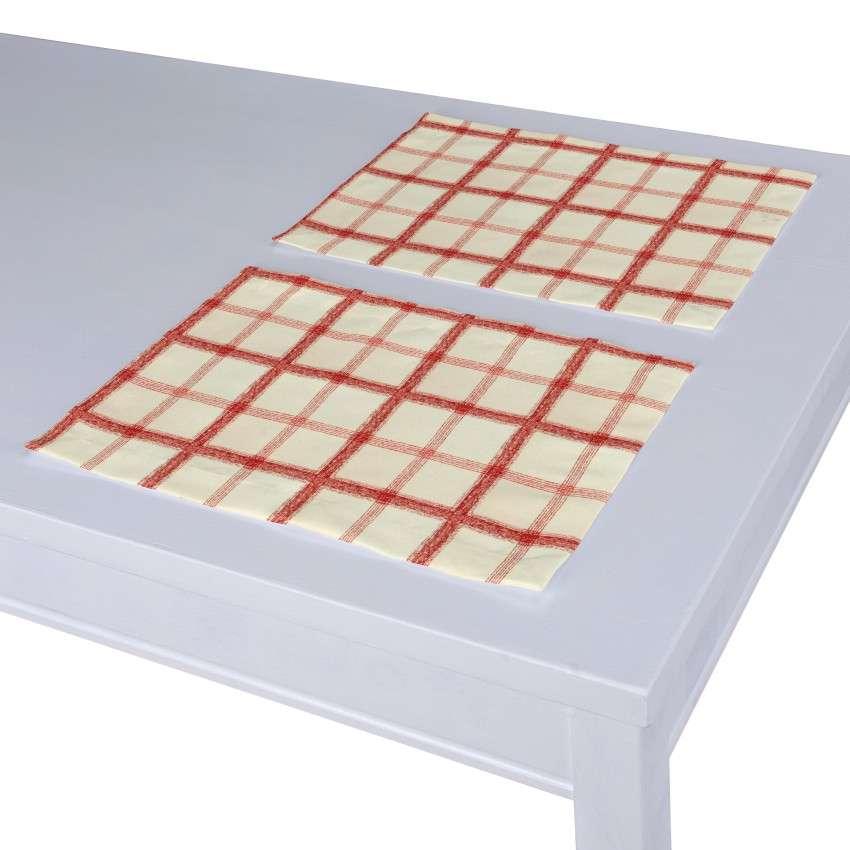 Stalo servetėlės/stalo padėkliukai – 2 vnt. 30 x 40 cm kolekcijoje Avinon, audinys: 131-15