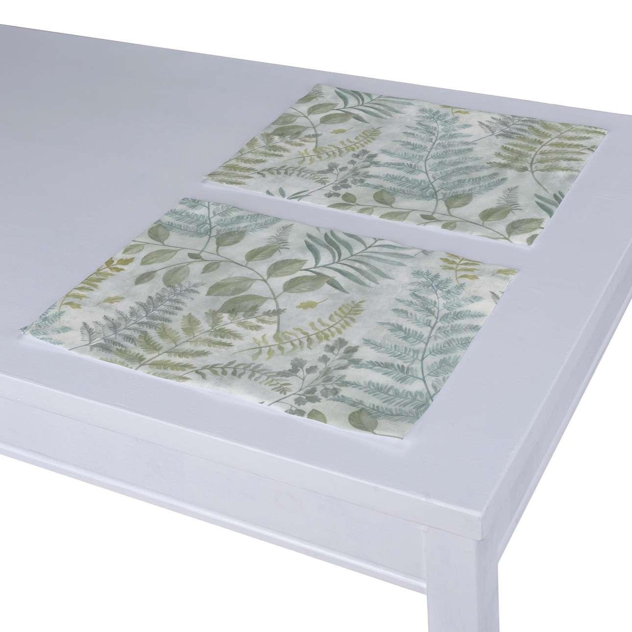 Podkładka 2 sztuki w kolekcji Pastel Forest, tkanina: 142-46