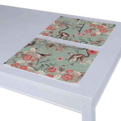Podkładka 2 sztuki w kolekcji Tropical Island, tkanina: 142-62