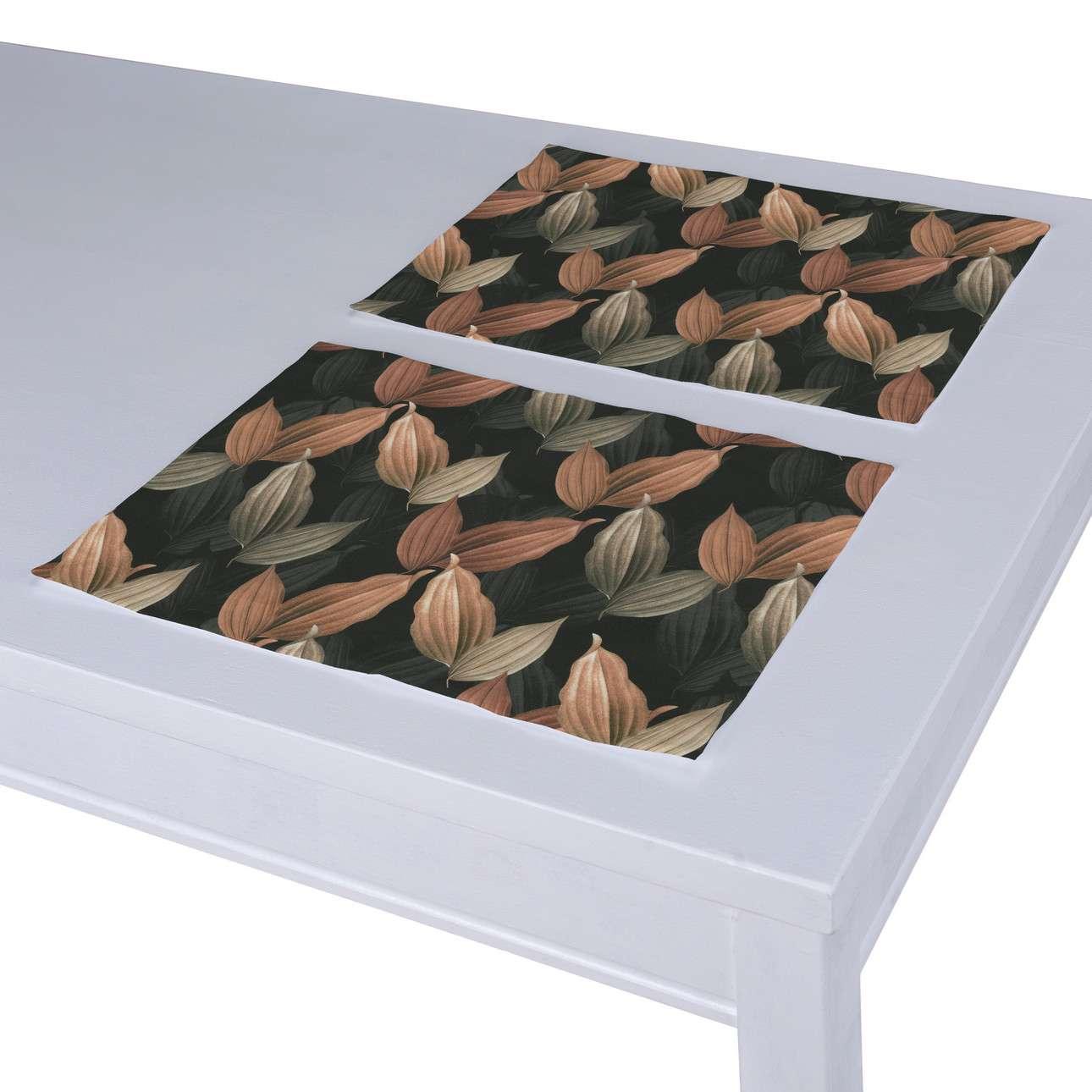 Podkładka 2 sztuki w kolekcji Abigail, tkanina: 143-21