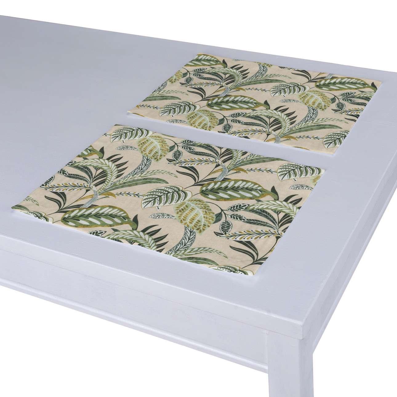 Podkładka 2 sztuki w kolekcji Tropical Island, tkanina: 142-96