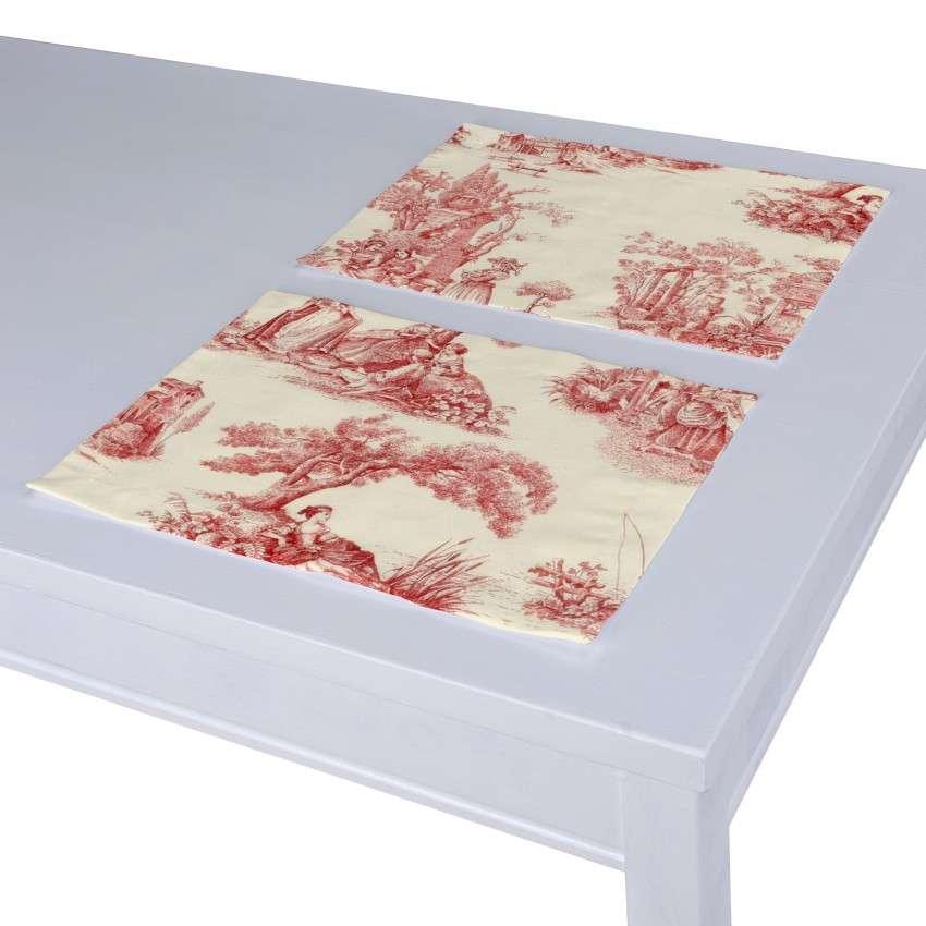 Podkładka 2 sztuki 30x40 cm w kolekcji Avinon, tkanina: 132-15