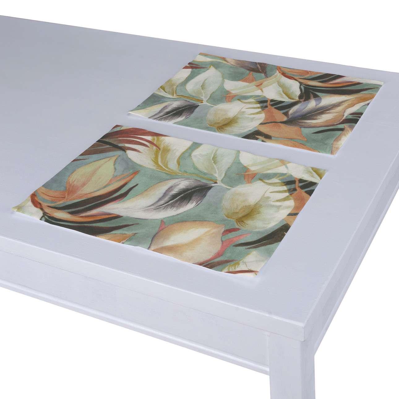 Podkładka 2 sztuki w kolekcji Abigail, tkanina: 143-61