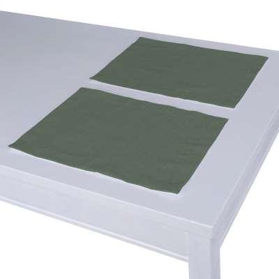 Podkładka 2 sztuki w kolekcji Linen, tkanina: 159-08