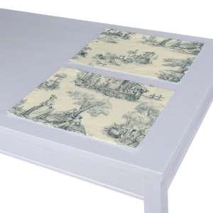 Stalo servetėlės/stalo padėkliukai – 2 vnt. 30 x 40 cm kolekcijoje Avinon, audinys: 132-66