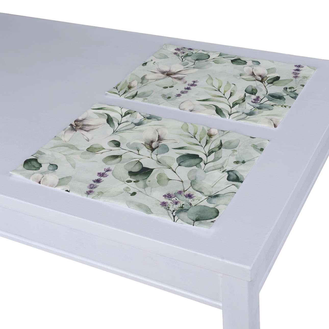 Podkładka 2 sztuki w kolekcji Flowers, tkanina: 143-66