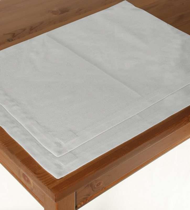 Tischset 2 Stck., weiss, 30 × 40 cm, Jupiter | Heimtextilien > Tischdecken und Co > Tisch-Sets | Dekoria