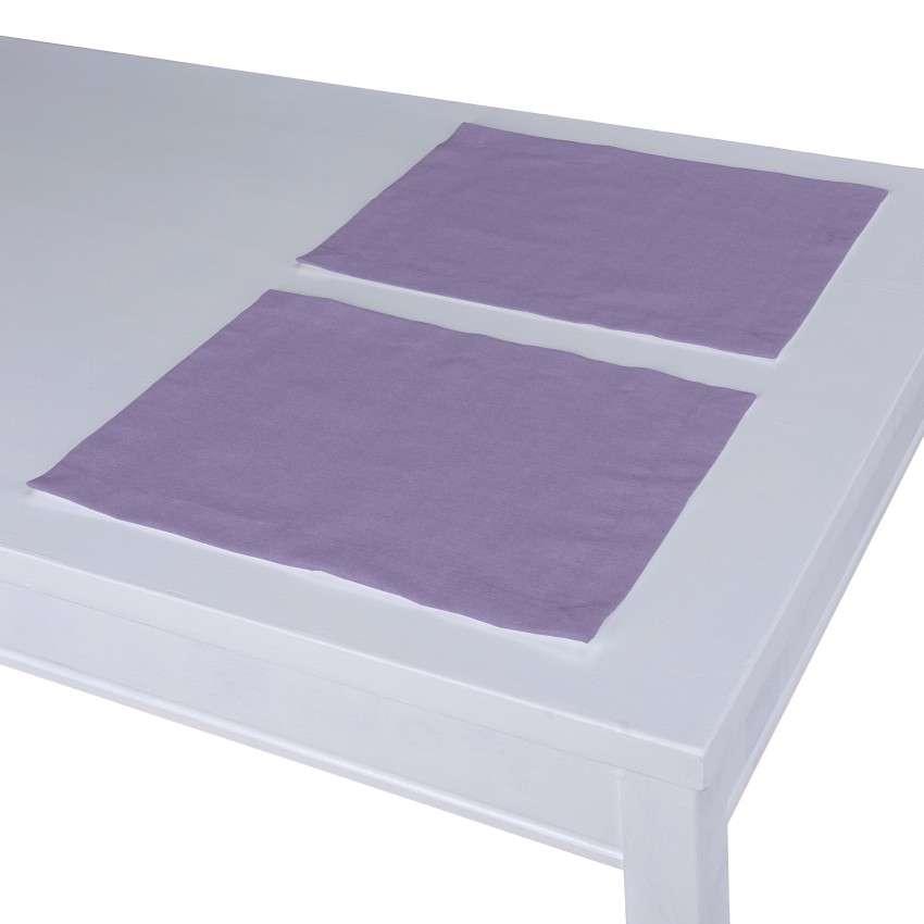 Stalo servetėlės/stalo padėkliukai – 2 vnt. 30 x 40 cm kolekcijoje Jupiter, audinys: 127-74