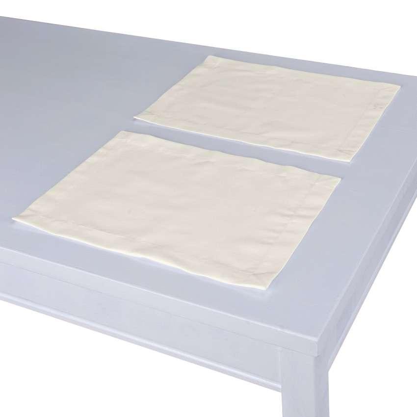 Stalo servetėlės/stalo padėkliukai – 2 vnt. 30 x 40 cm kolekcijoje Jupiter, audinys: 127-00