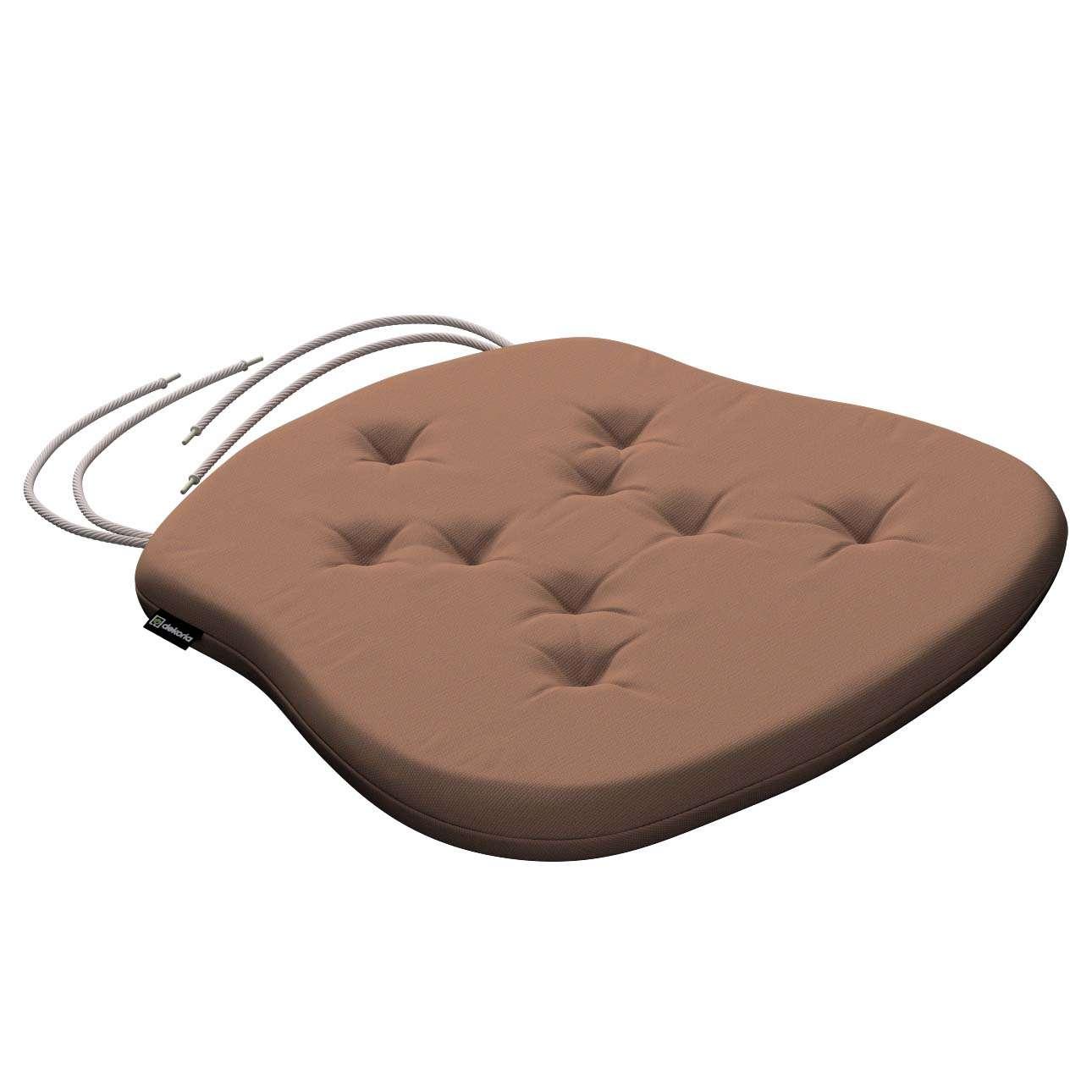 Siedzisko Filip na krzesło 41x38x3,5 cm w kolekcji Cotton Panama, tkanina: 702-02