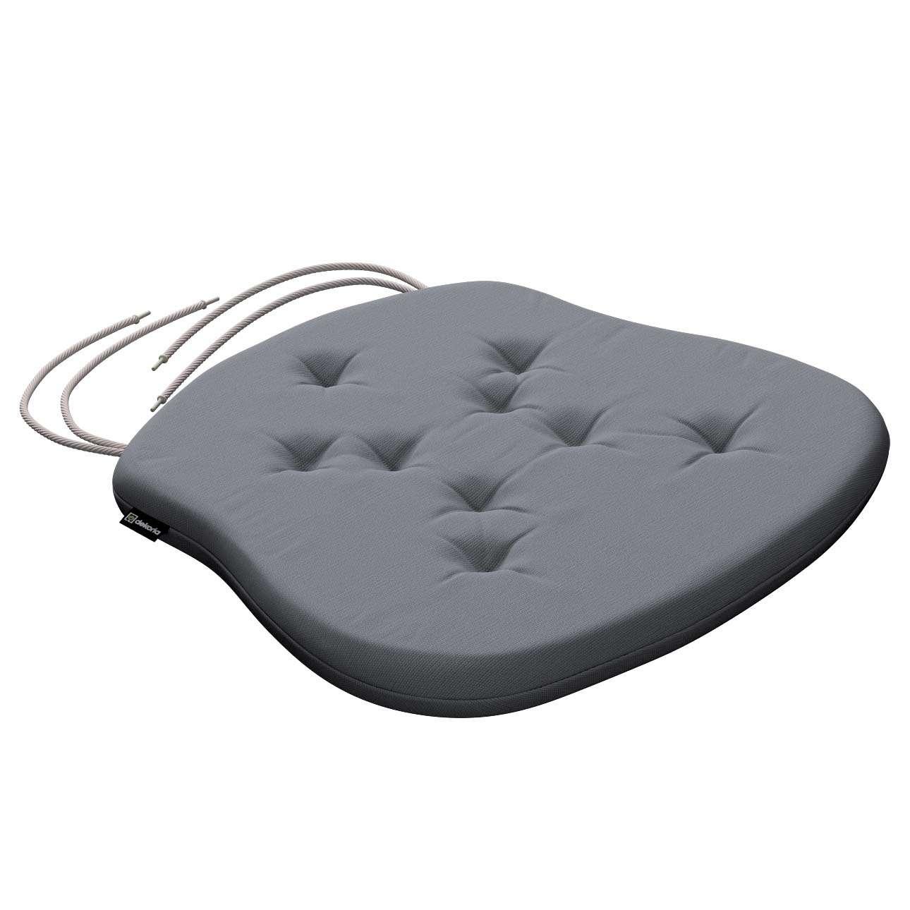 Siedzisko Filip na krzesło 41x38x3,5 cm w kolekcji Cotton Panama, tkanina: 702-07