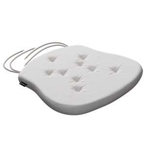 Siedzisko Filip na krzesło 41x38x3,5 cm w kolekcji Linen, tkanina: 392-04
