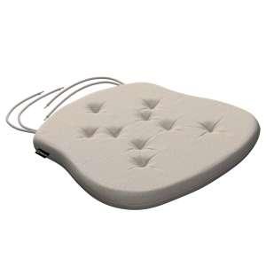 Siedzisko Filip na krzesło 41x38x3,5 cm w kolekcji Linen, tkanina: 392-05