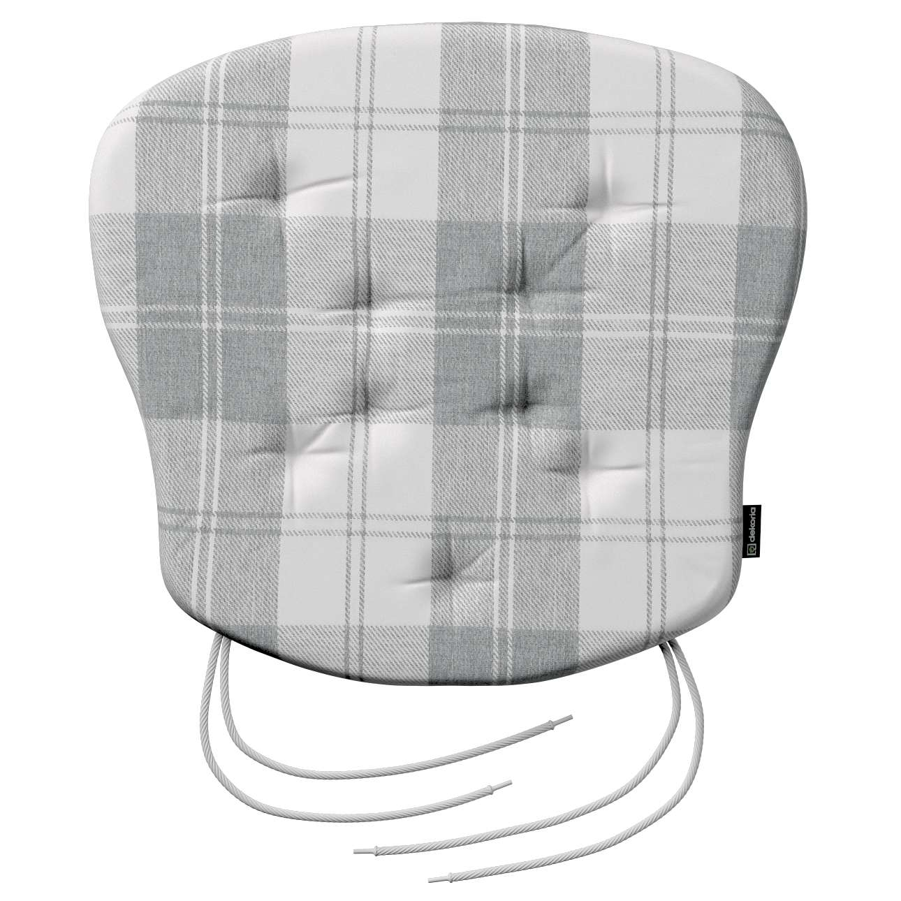 Siedzisko Filip na krzesło 41x38x3,5 cm w kolekcji Edinburgh, tkanina: 115-79