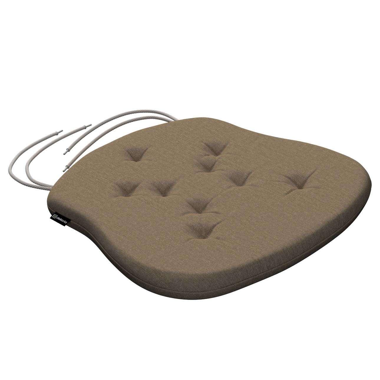 Siedzisko Filip na krzesło 41x38x3,5 cm w kolekcji Chenille, tkanina: 702-21