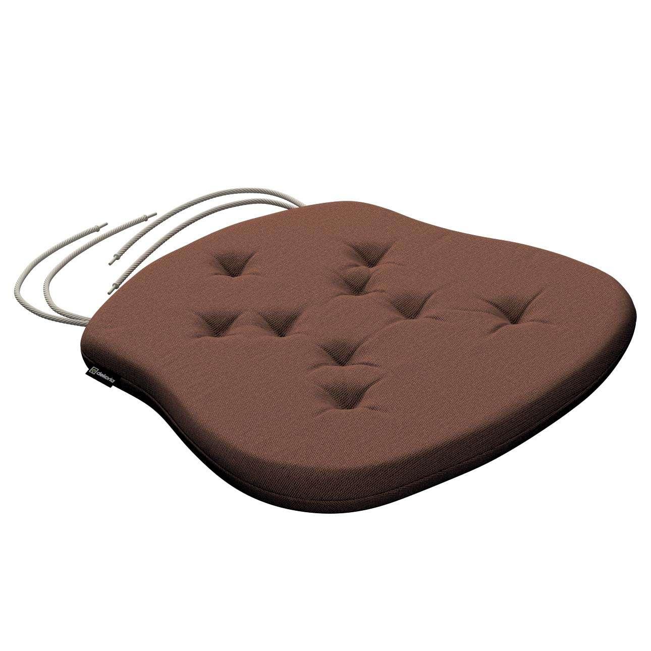 Siedzisko Filip na krzesło 41x38x3,5 cm w kolekcji Loneta, tkanina: 133-09