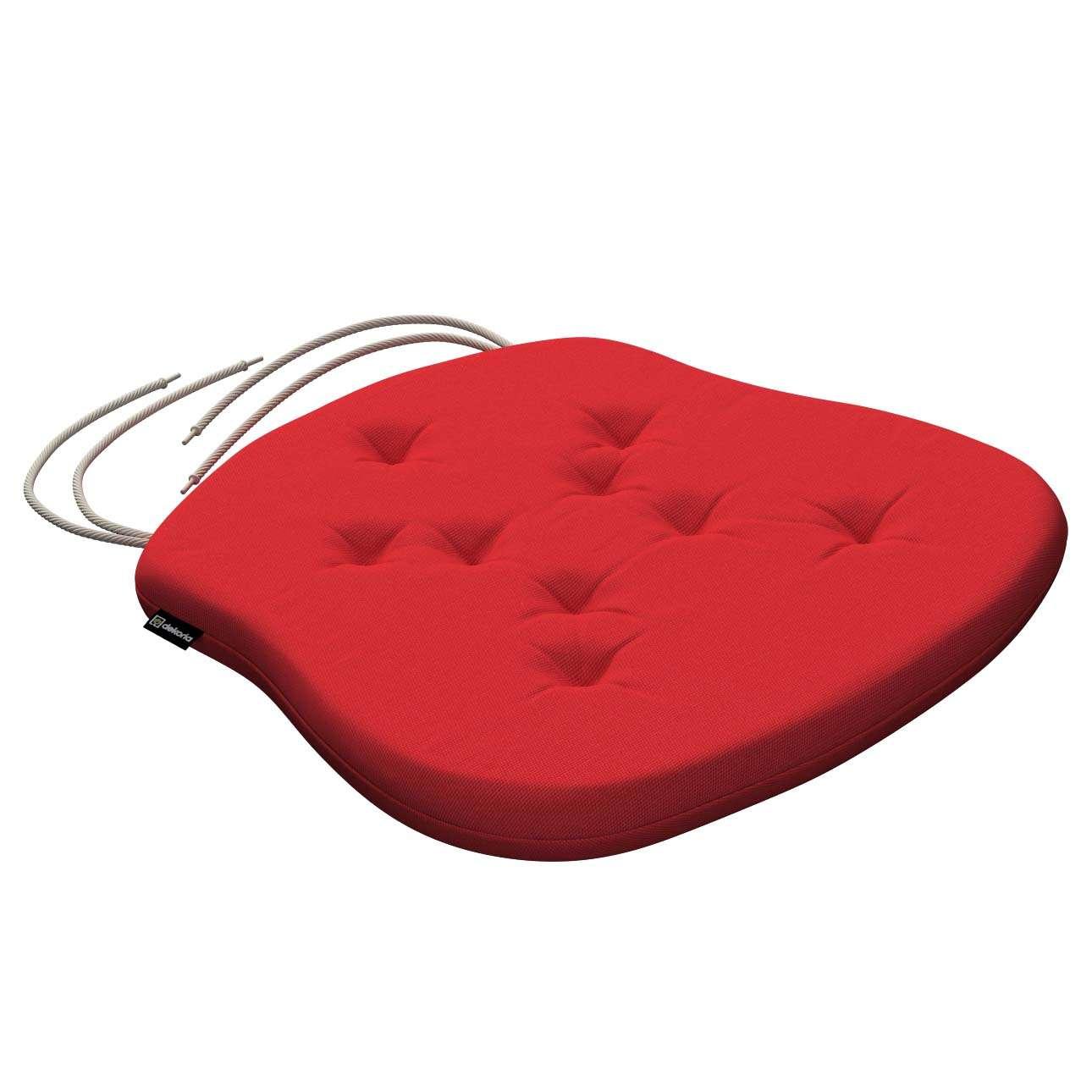 Siedzisko Filip na krzesło 41x38x3,5 cm w kolekcji Loneta, tkanina: 133-43