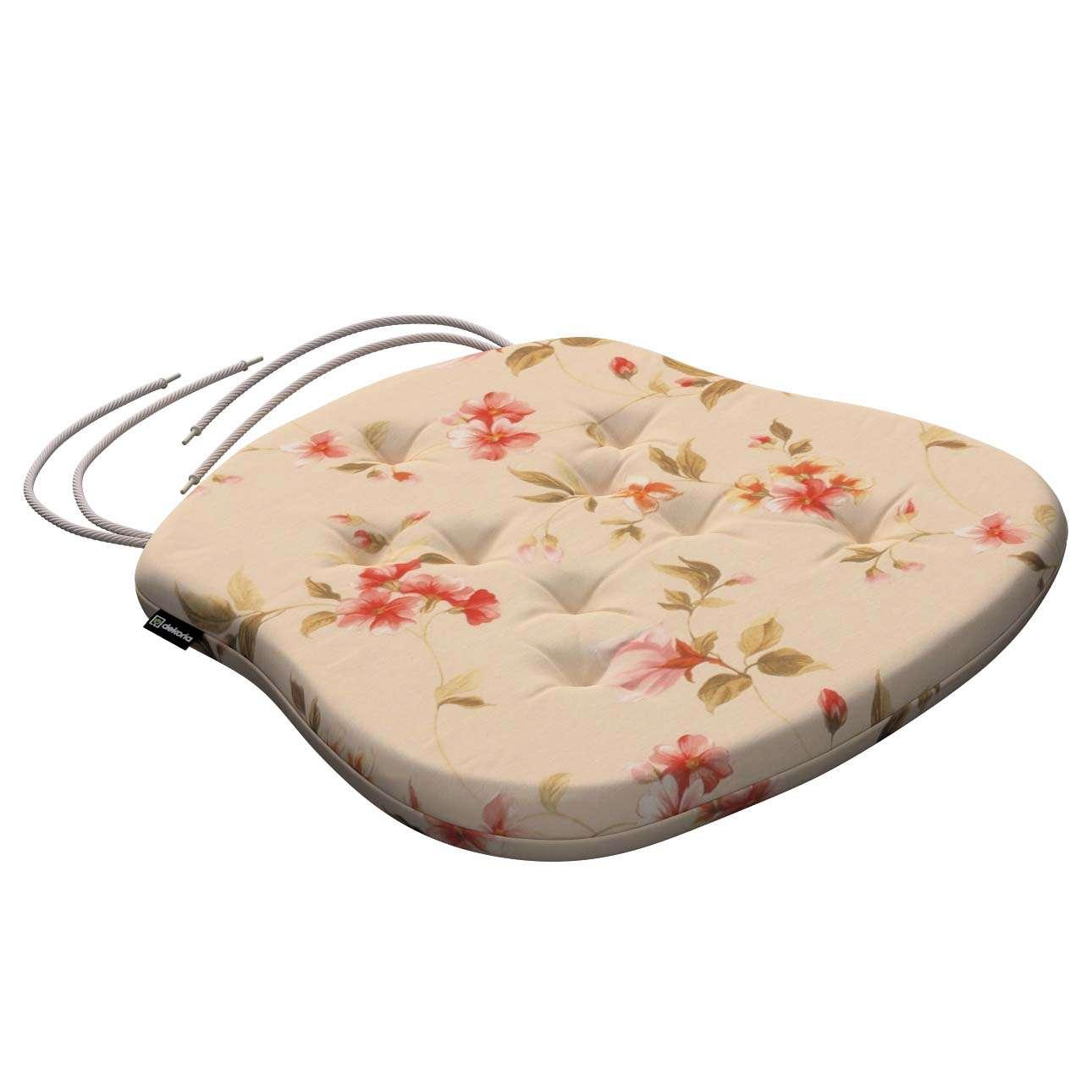 Siedzisko Filip na krzesło 41x38x3,5 cm w kolekcji Londres, tkanina: 124-05