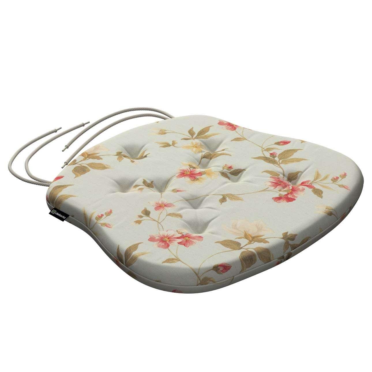 Siedzisko Filip na krzesło 41x38x3,5 cm w kolekcji Londres, tkanina: 124-65