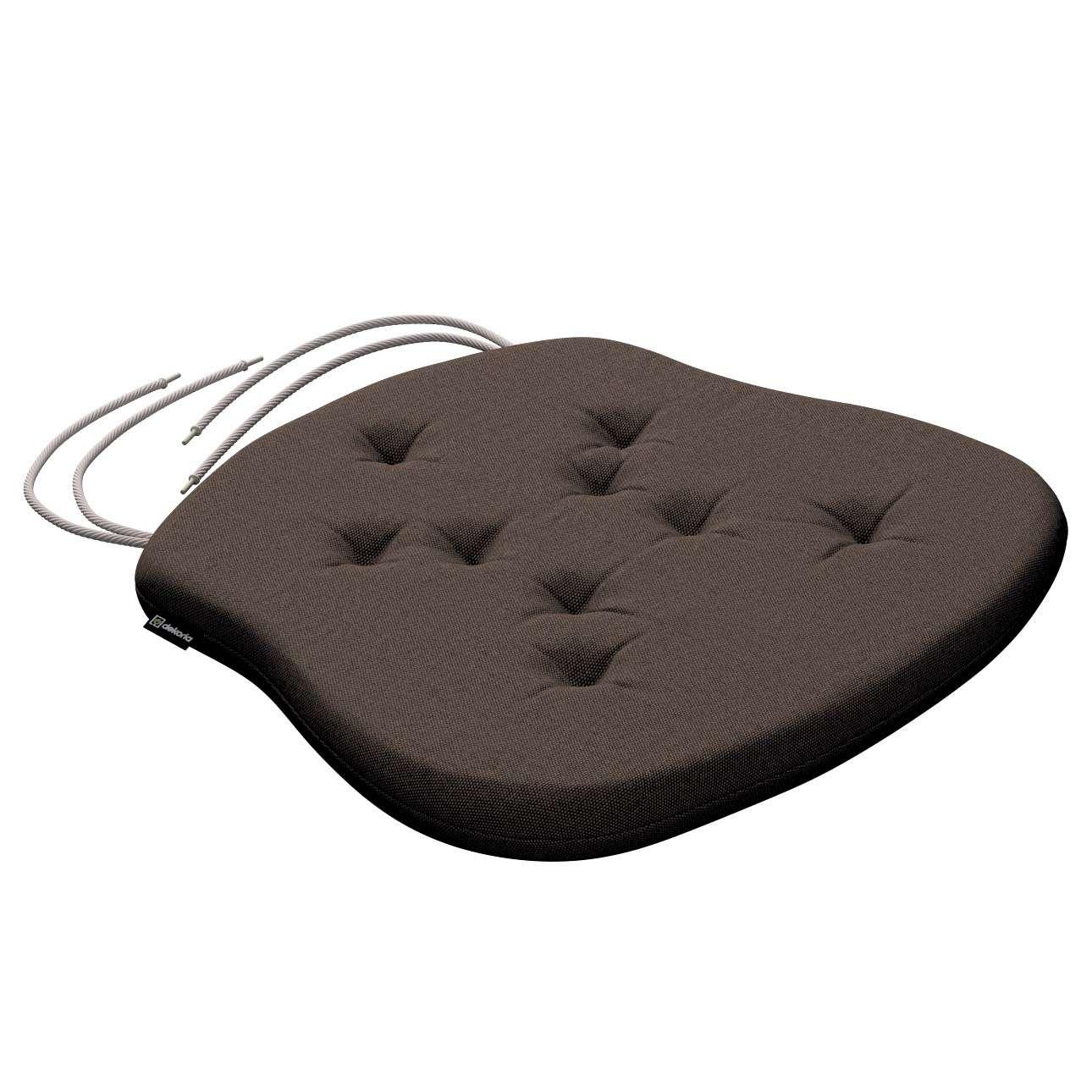 Siedzisko Filip na krzesło 41x38x3,5 cm w kolekcji Etna , tkanina: 705-08