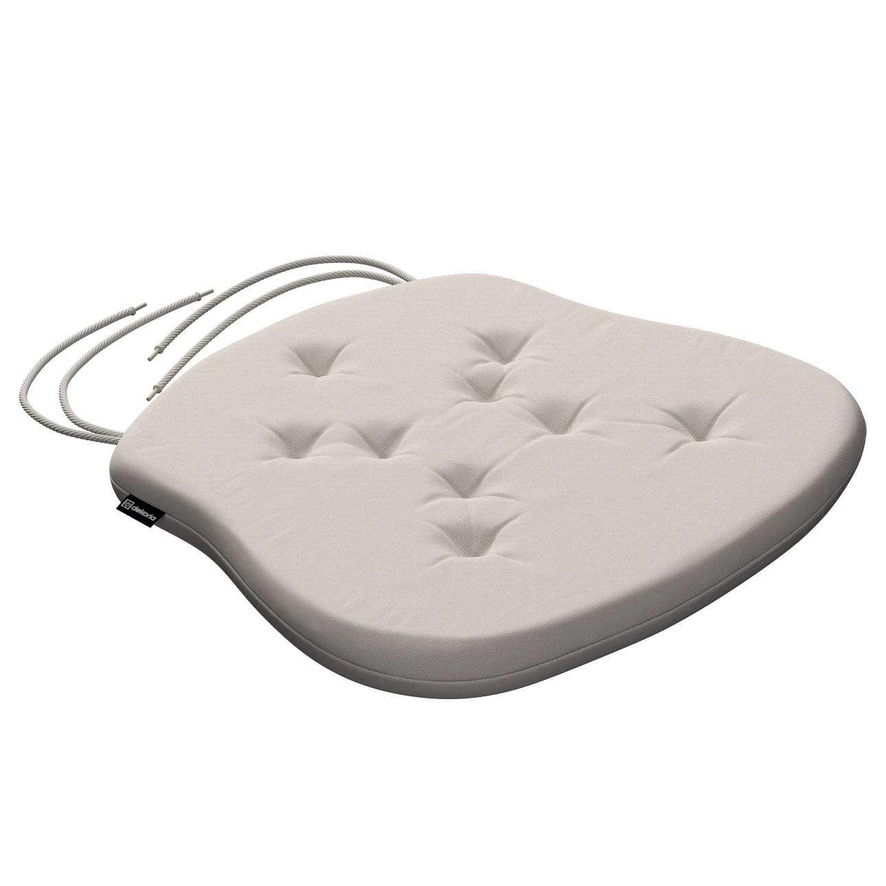Siedzisko Filip na krzesło 41x38x3,5 cm w kolekcji Cotton Panama, tkanina: 702-31
