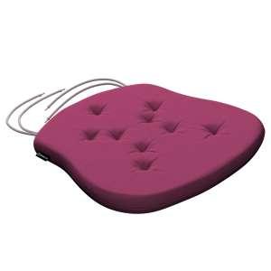 Siedzisko Filip na krzesło 41x38x3,5 cm w kolekcji Cotton Panama, tkanina: 702-32