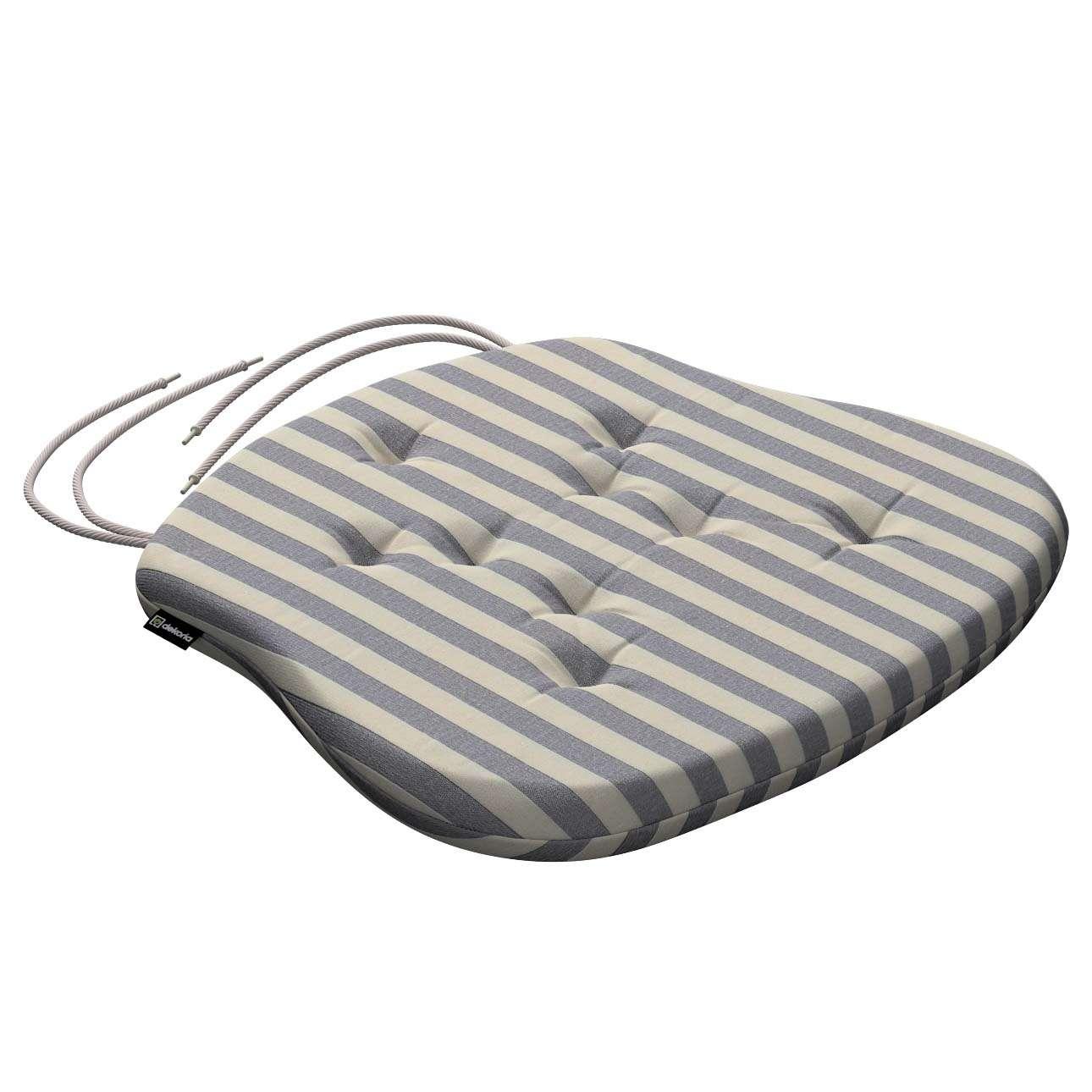 Siedzisko Filip na krzesło 41x38x3,5 cm w kolekcji Quadro, tkanina: 136-02