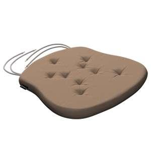 Siedzisko Filip na krzesło 41x38x3,5 cm w kolekcji Quadro, tkanina: 136-09