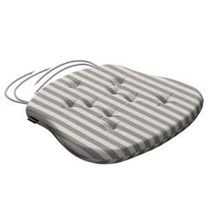 Siedzisko Filip na krzesło 41x38x3,5 cm w kolekcji Quadro, tkanina: 136-12