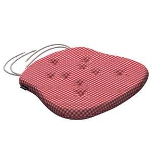 Siedzisko Filip na krzesło 41x38x3,5 cm w kolekcji Quadro, tkanina: 136-15