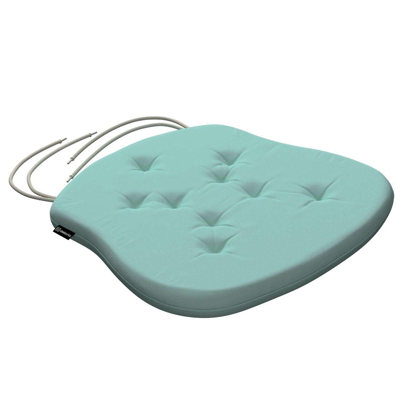 Siedzisko Filip na krzesło 41x38x3,5 cm w kolekcji Loneta, tkanina: 133-32