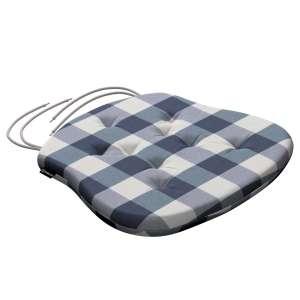 Siedzisko Filip na krzesło 41x38x3,5 cm w kolekcji Quadro, tkanina: 136-03