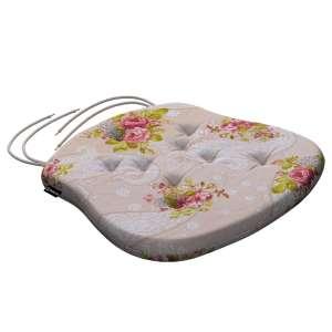 Siedzisko Filip na krzesło 41x38x3,5 cm w kolekcji Flowers, tkanina: 311-15