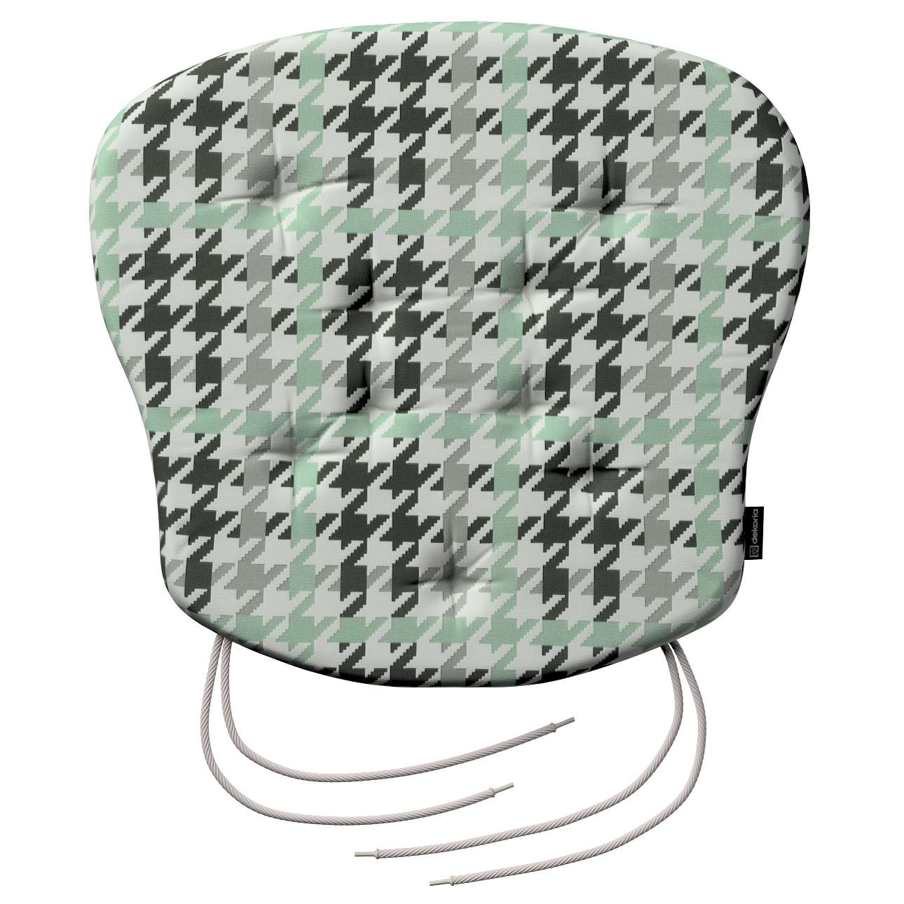 Siedzisko Filip na krzesło 41x38x3,5 cm w kolekcji Brooklyn, tkanina: 137-77