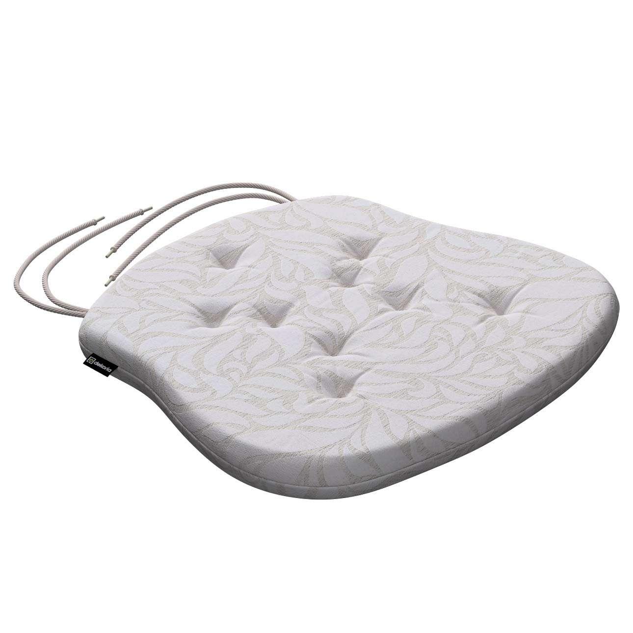 Siedzisko Filip na krzesło 41x38x3,5 cm w kolekcji Venice, tkanina: 140-50