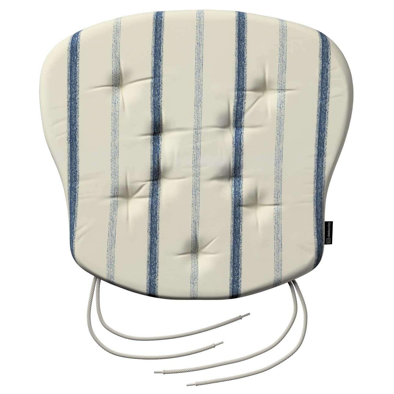 Siedzisko Filip na krzesło 41x38x3,5 cm w kolekcji Avinon, tkanina: 129-66