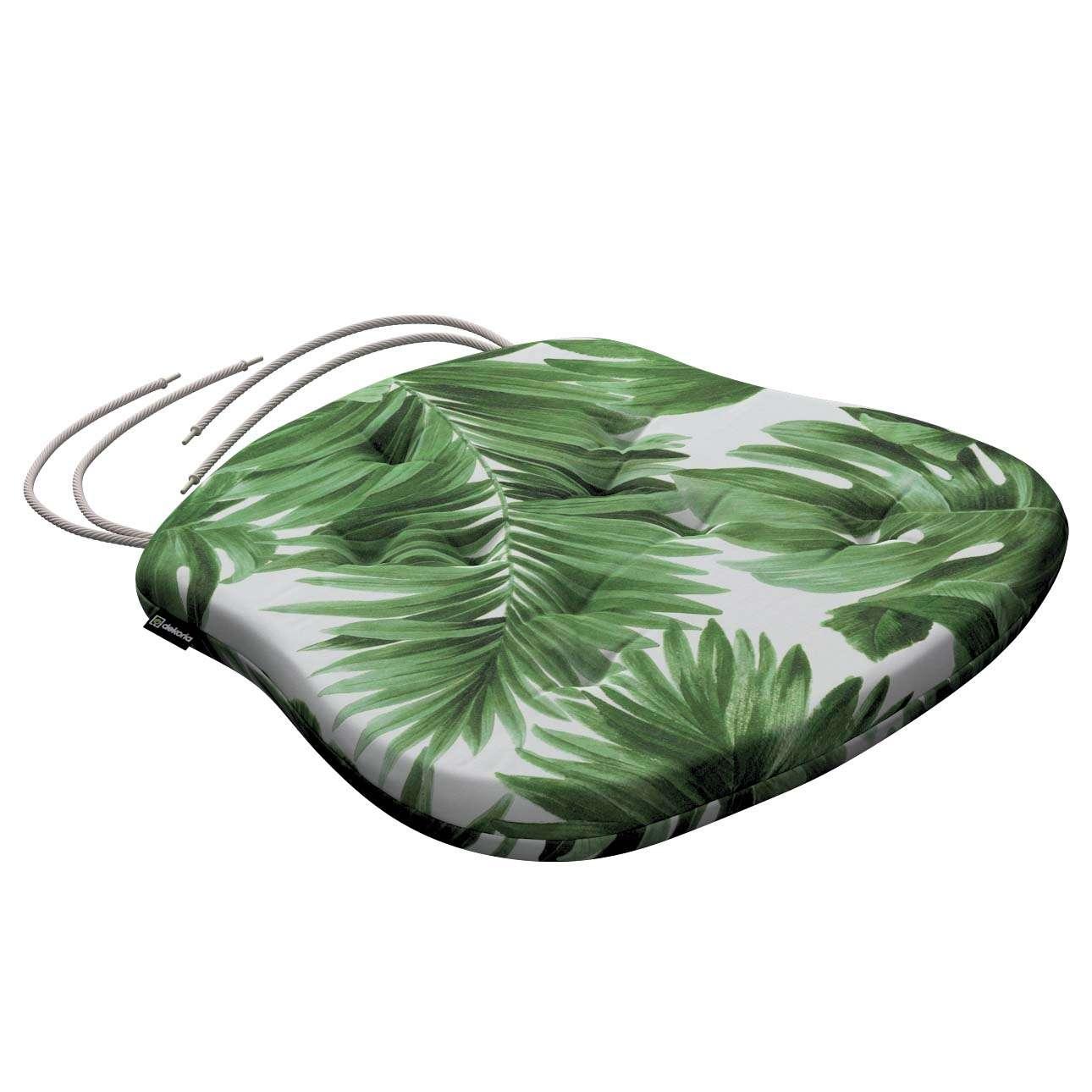 Siedzisko Filip na krzesło w kolekcji Tropical Island, tkanina: 141-71