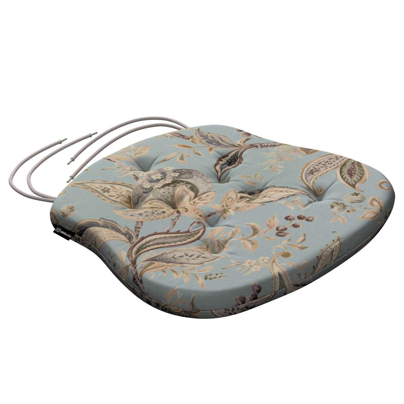 Siedzisko Filip na krzesło w kolekcji Gardenia, tkanina: 142-18