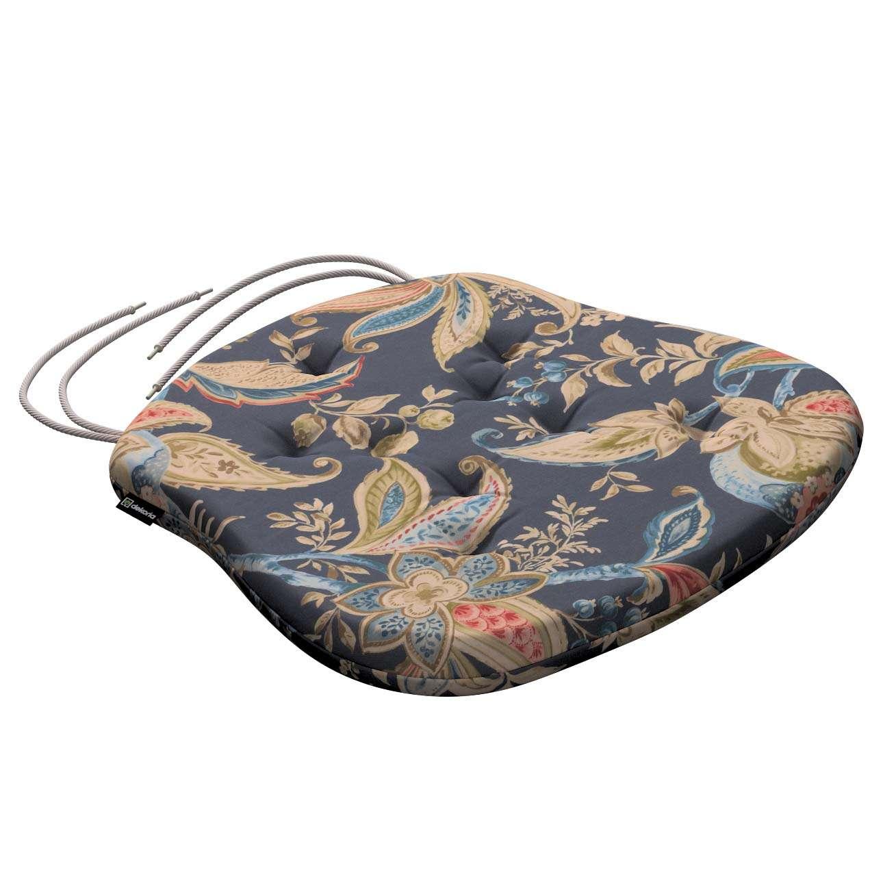 Siedzisko Filip na krzesło w kolekcji Gardenia, tkanina: 142-19
