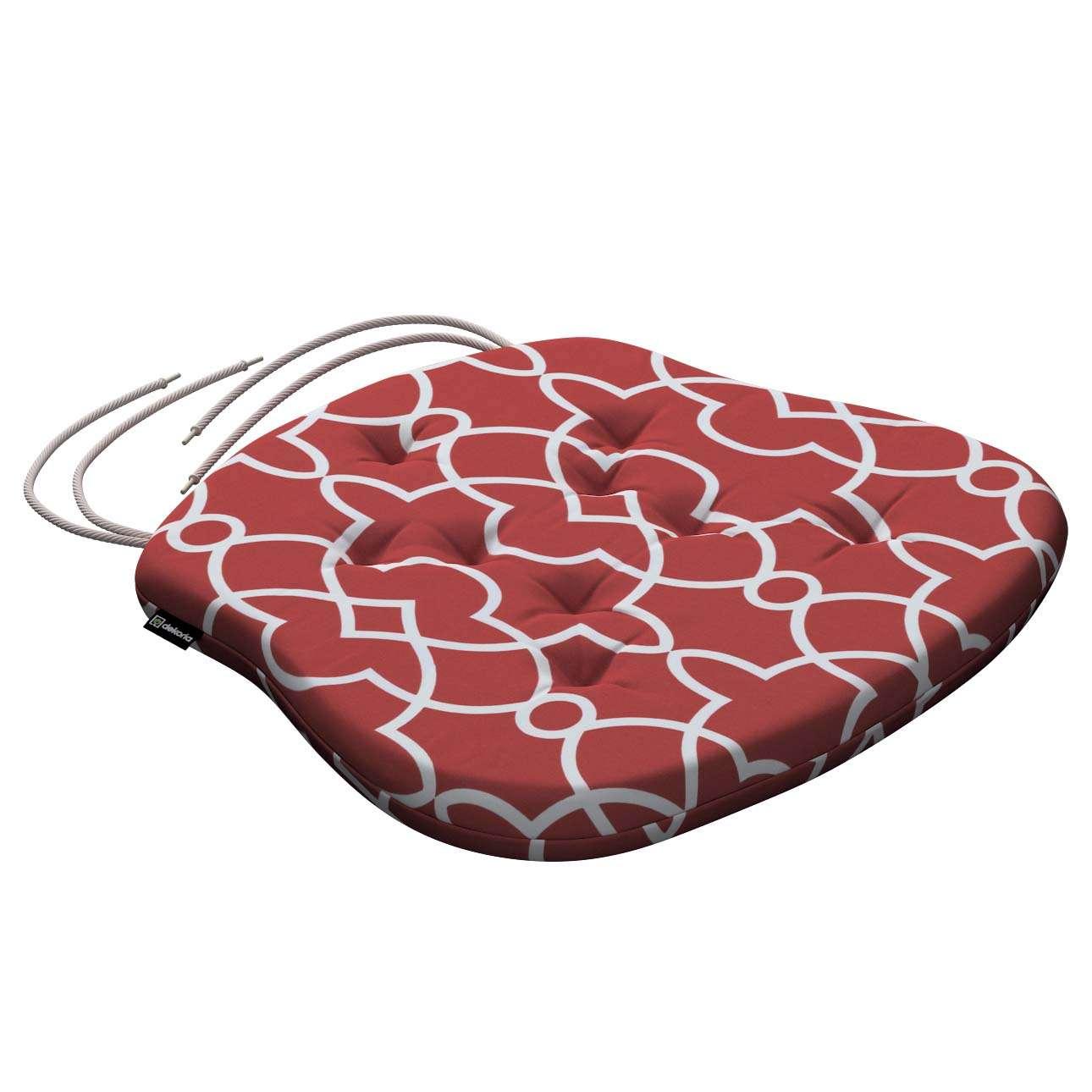 Siedzisko Filip na krzesło w kolekcji Gardenia, tkanina: 142-21