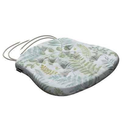 Philip seat pad with ties 142-46 green Collection Tropical Island