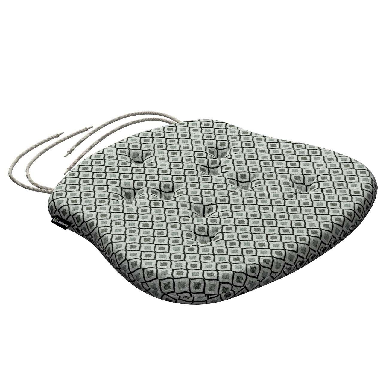 Siedzisko Filip na krzesło w kolekcji Black & White, tkanina: 142-76