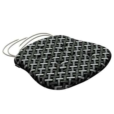 Siedzisko Filip na krzesło 142-87 czarno-biały Kolekcja Black & White