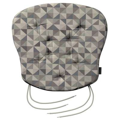 Philip seat pad with ties 142-84 grey- blue Collection SALE